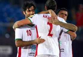 اسپانیا مقهور تیم ملی فوتبال ساحلی/ایران برای سومین بار قهرمان شد
