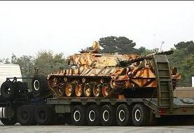 رونمایی از خودرو تانک بر «کیان ۷۰۰»