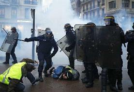 گزارش لوموند از بازداشت بیش از ۱۰ هزار معترض سیاستهای دولت فرانسه