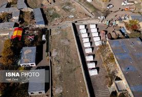 ٢٢٠٠ واحد زلزله زده در میانه نیاز به تخریب و بازسازی دارند