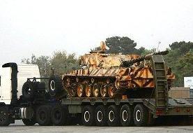 خودروی تانکبر «کیان ۷۰۰» رونمایی شد