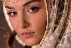 اولین تصاویر بازیگر زن مشهور ترکیهای فیلم حسن فتحی