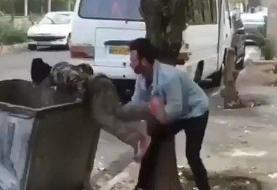شکایت بهزیستی از اهانت کننده به کودک زبالهگرد