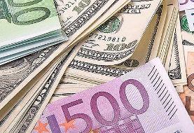 نرخ ارز در صرافیهای بانکها | دلار ۱۳۵۵۰ تومان، یورو ۱۴۸۵۰ تومان