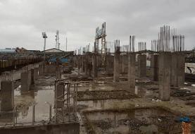 روند کند بازسازی سکوهای ورزشگاه تختی بندرانزلی