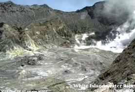Webcam live feed showed tourists inside New Zealand volcano right before it erupted and killed ...