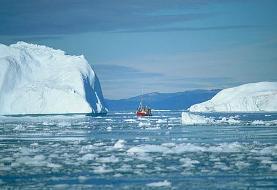 سرعت آب شدن یخهای گرینلند از دهه ۱۹۹۰ هفت برابر شده است