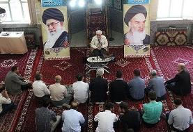 (عکس) تصویری جالب از سخنرانی سعید جلیلی برای صندلیهای خالی!