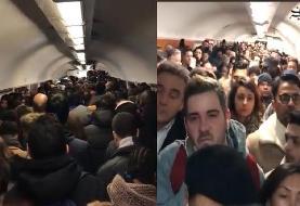 سرگردانی هزاران نفر در پی اعتصاب کارکنان مترو
