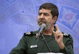 واکنش سردار شریف به اظهارات منتسب به یک فرمانده سپاه درباره هدف قراردادن تل آویو از خاک لبنان