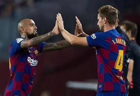 ۲ هافبک بارسلونا در تیررس اینتر