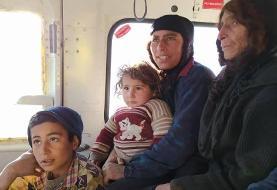امدادرسانی به عشایر گرفتار در برف ارتفاعات ایذه+عکس