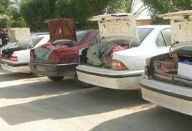 ۹۱۰ خودرو شوتی در لرستان توقیف شد