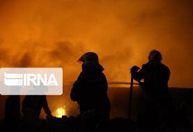 آتش سوزی در باغملک جان یک نفر را گرفت