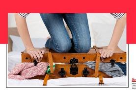 ترفندهای جالب برای بستن چمدان