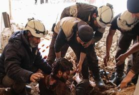 صحنهسازی کاربرد سلاح شیمیایی در ادلب