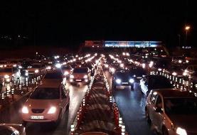 ترافیک نیمه سنگین به سمت شمال/ اعمال محدودیت تردد در محدوده مشاء