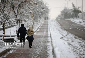 پیشبینی بارش برف در البرز