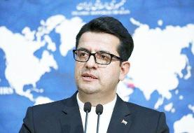 موسوی: سفر بن علوی در چارچوب رایزنیهای مستمر مقامات ایران و عمان است