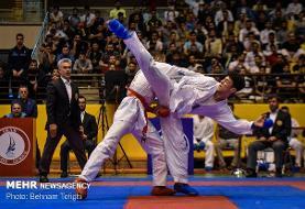 صدرنشینی پاس و دانشگاه آزاد در سوپر لیگ کاراته