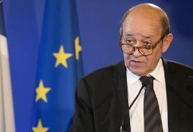 وزیر امور خارجه فرانسه از تهدید روسیه سخن گفت