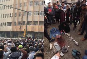 آیا نوجوانی که توسط تظاهرکنندگان در میدان الوثبه بغداد به دار آویخته شد به سوی مردم تیراندازی کرده بود؟
