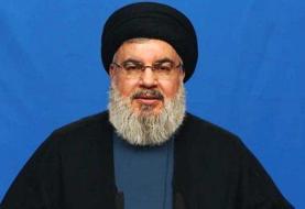 سیدحسن نصرالله: سخنان اخیر یکی از مسئولان سپاه، درباره لبنان نبود