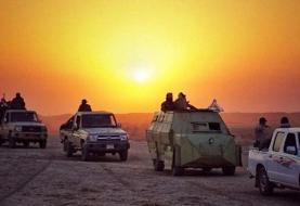 درگیری الحشدالشعبی با داعش در نزدیکی مرز ایران