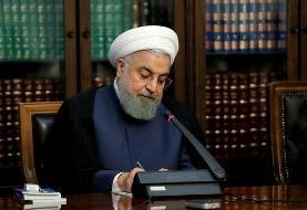 روحانی درگذشت پدر شهیدان عرب سرخی را تسلیت گفت