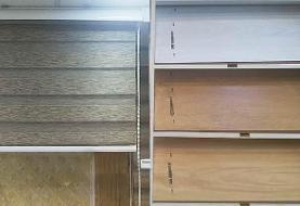انتخاب پارکت لمینت، پرده زبرا و کاغذ دیواری از فروشگاه ویکی دکو