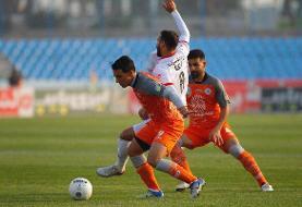 تصاویر: لیگ برتر فوتبال - دیدار تیمهای سایپا و پرسپولیس