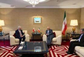 مسائل دوجانبه؛ محور گفتگوی ظریف با همتای لهستانی
