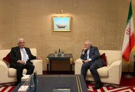 بررسی آخرین تحولات عراق در دیدار ظریف با یک مقام ارشد امنیتی این کشور