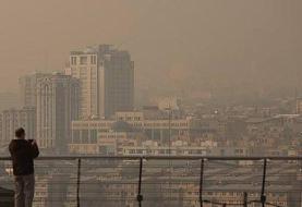 تهرانیها امسال چند روز هوای آلوده تنفس کردند؟