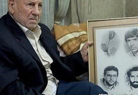 پدر گلسرخی ها که ۳ فرزند خود را در جنگ از دست داد به آنها پیوست