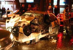کاهش ۱۵ درصدی تصادفات منجر به فوت در جاده های کردستان