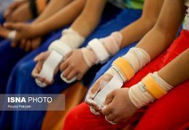 پلیس ۱۱۰ و تحصن در مسابقات ژیمناستیک دختران!