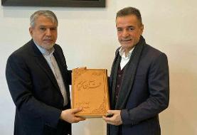 مدیرعامل باشگاه پرسپولیس با صالحی امیری دیدار کرد