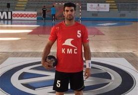 لژیونر هندبال ایران از تیم ملی خداحافظی کرد