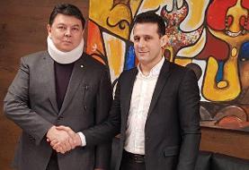 دیدار میراسماعیلی با رئیس فدراسیون جهانی «قزاق کورس»