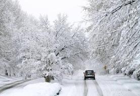 کاهش دما | بارش برف و باران در بیشتر مناطق کشور