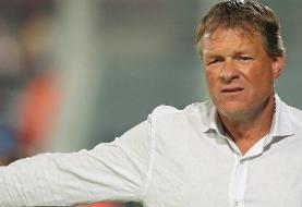 اخراج سرمربی هلندی از هدایت تیم ملی عمان