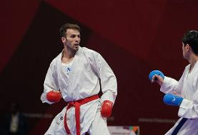 صعود عسگری به فینال کاراته لیگ جهانی پاریس/آسیابری و خاکسار حذف شدند