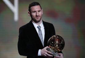 مسی برنده توپ طلا شد