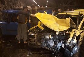 تصادف در جاده کندوان سه نفر را راهی بیمارستان کرد