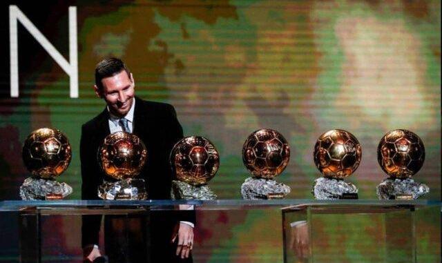 اظهارات مسی پس از کسب توپ طلا