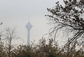 هوای تهران برای گروههای حساس ناسالم ماند