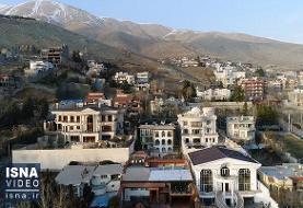 ویدئو / لواسان؛ شهر یا کارگاه ساختمانسازی تهران؟