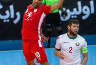 دیدار تیم های فوتسال ایران و بلاروس