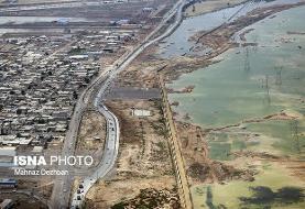 پیشروی رودخانه کرخه به سمت ۷ روستا
